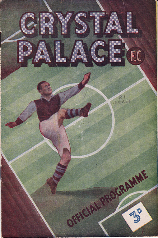 Saturday, December 23, 1950 - vs. Crystal Palace (Away)