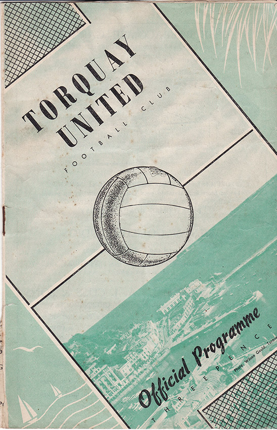 Tuesday, December 26, 1950 - vs. Torquay United (Away)