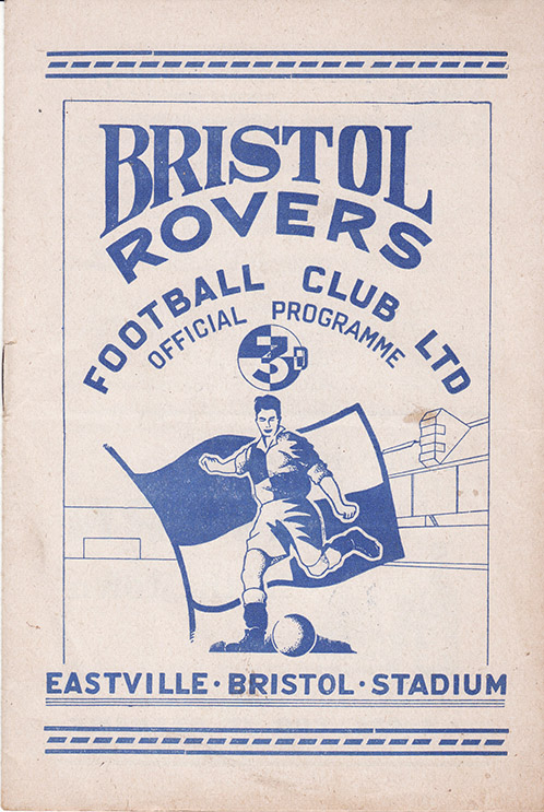 Monday, August 20, 1951 - vs. Bristol Rovers (Away)