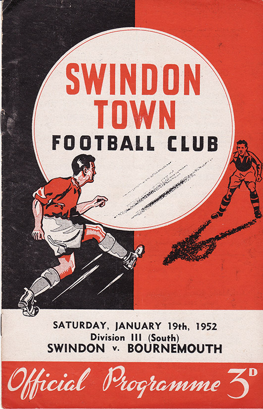 Saturday, January 19, 1952 - vs. Bournemouth and Boscombe Athletic (Home)