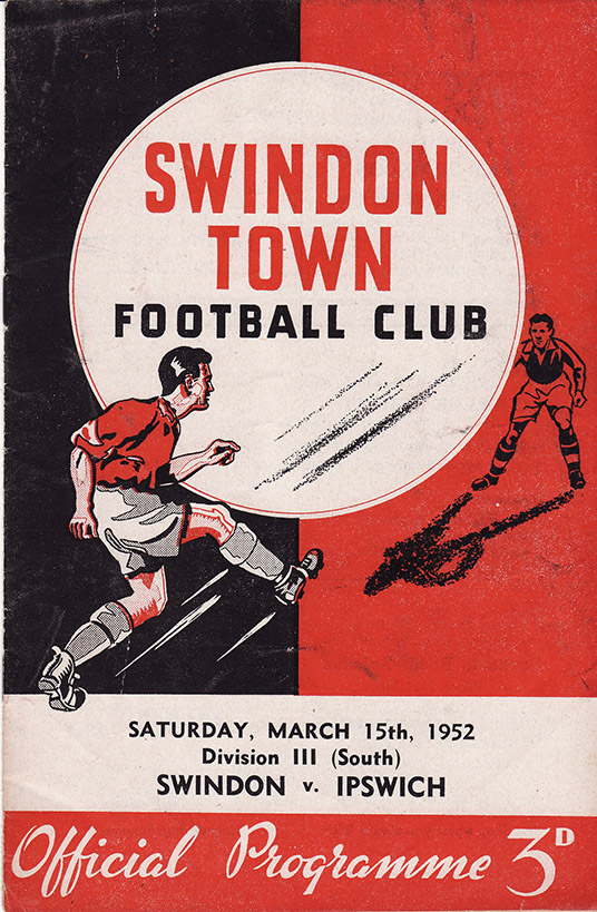Saturday, March 15, 1952 - vs. Ipswich Town (Home)