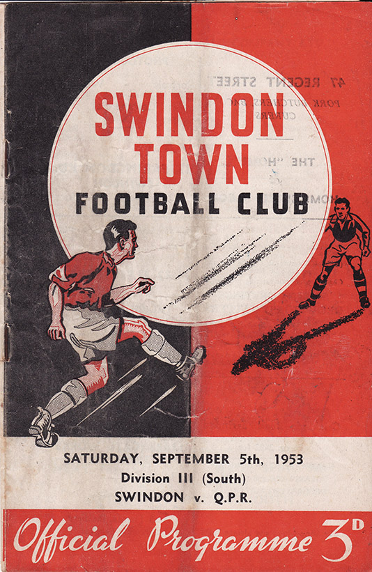 <b>Saturday, September 5, 1953</b><br />vs. Queens Park Rangers (Home)