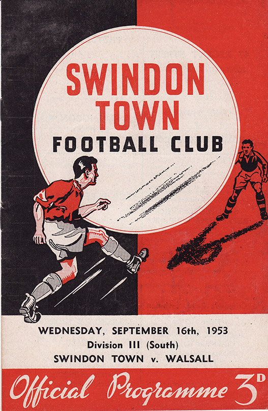 <b>Wednesday, September 16, 1953</b><br />vs. Walsall (Home)