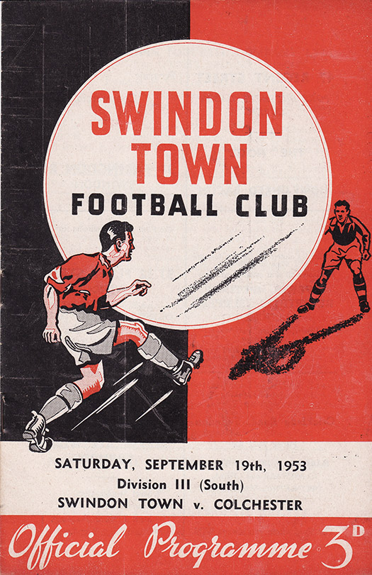 <b>Saturday, September 19, 1953</b><br />vs. Colchester United (Home)