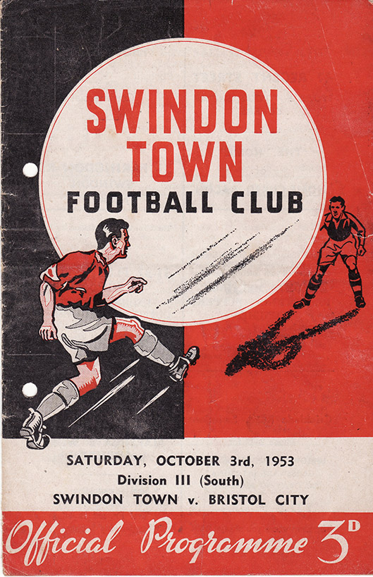 <b>Saturday, October 3, 1953</b><br />vs. Bristol City (Home)