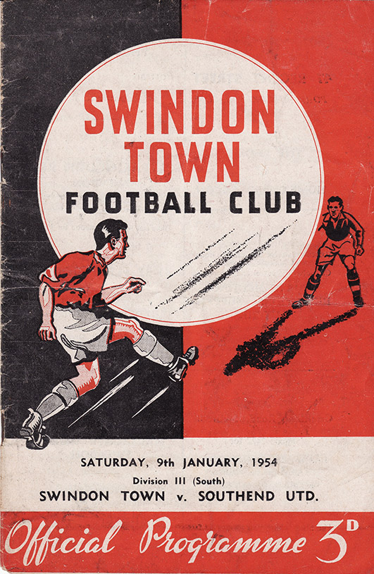 <b>Saturday, January 9, 1954</b><br />vs. Southend United (Home)