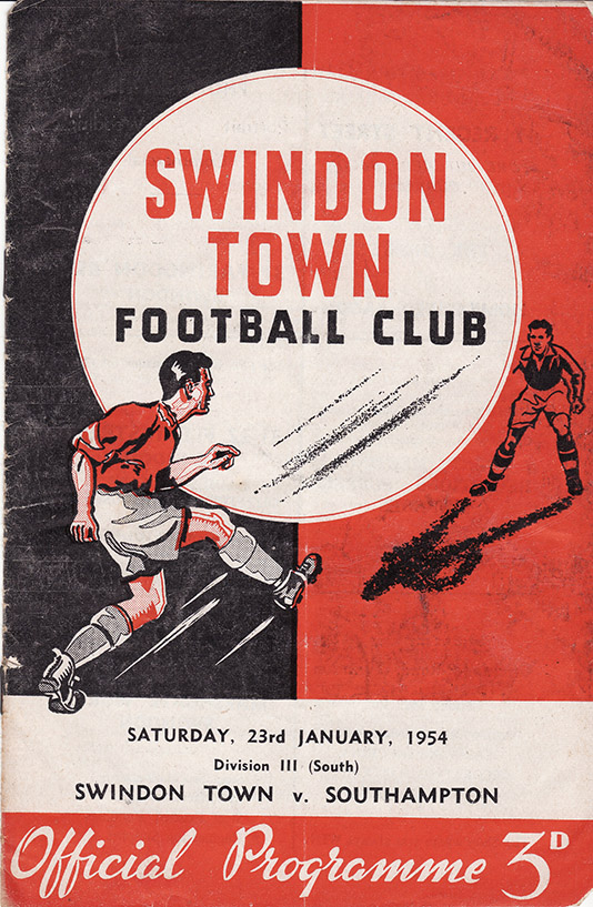 <b>Saturday, January 23, 1954</b><br />vs. Southampton (Home)
