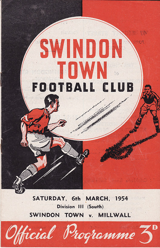 <b>Saturday, March 6, 1954</b><br />vs. Millwall (Home)