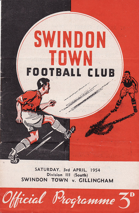 <b>Saturday, April 3, 1954</b><br />vs. Gillingham (Home)