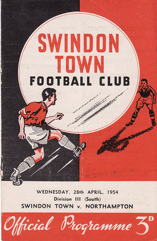 <b>Wednesday, April 28, 1954</b><br />vs. Northampton Town (Home)