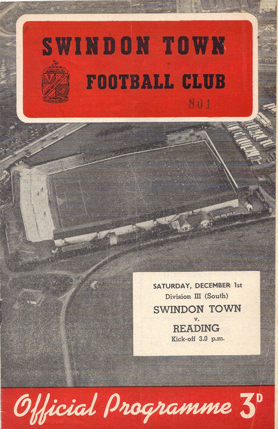 <b>Saturday, December 1, 1956</b><br />vs. Reading (Home)