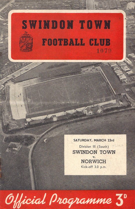 <b>Saturday, March 23, 1957</b><br />vs. Norwich City (Home)