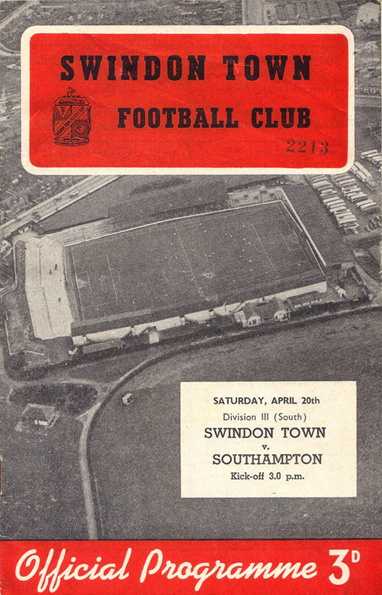 <b>Saturday, April 20, 1957</b><br />vs. Southampton (Home)