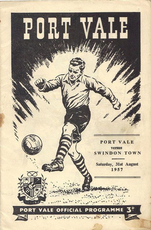 Saturday, August 31, 1957 - vs. Port Vale (Away)