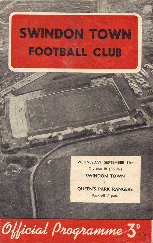 Wednesday, September 11, 1957 - vs. Queens Park Rangers (Home)