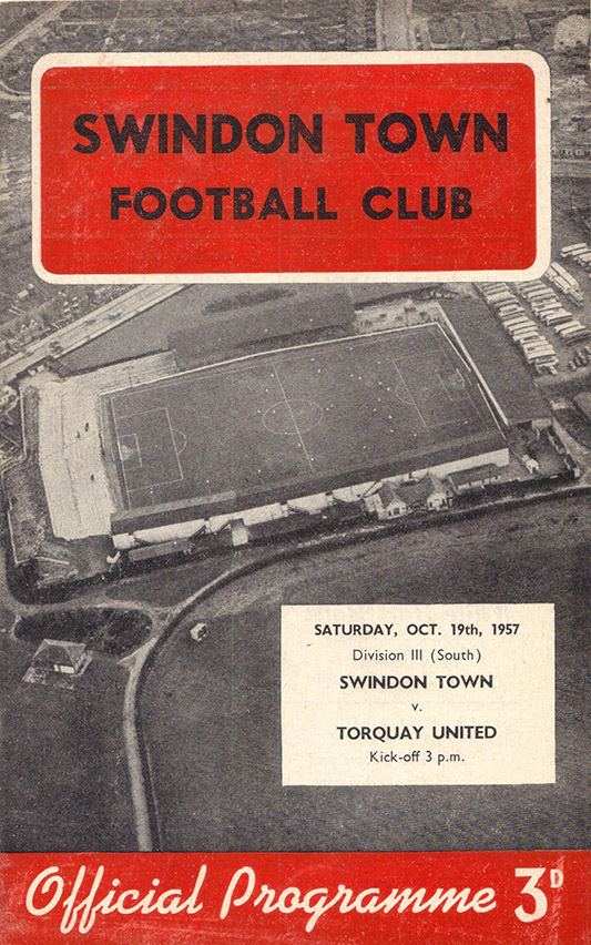 Saturday, October 19, 1957 - vs. Torquay United (Home)