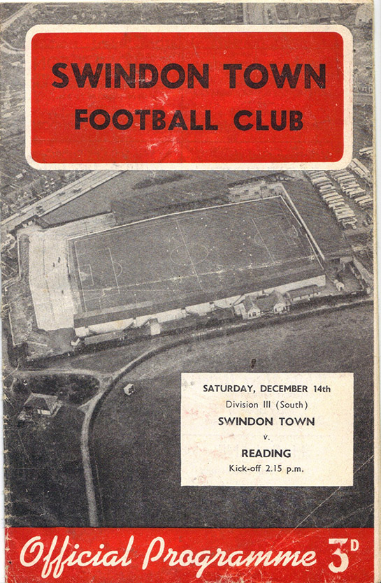 Saturday, December 14, 1957 - vs. Reading (Home)