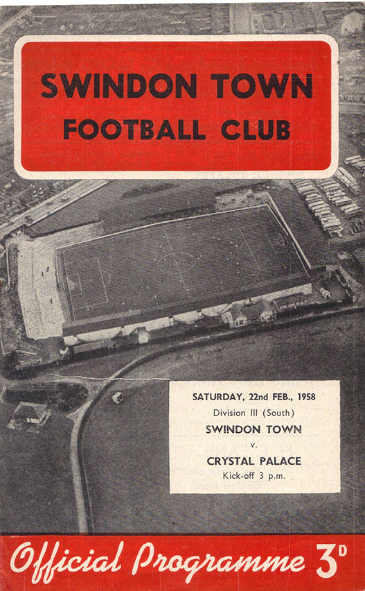 Saturday, February 22, 1958 - vs. Crystal Palace (Home)