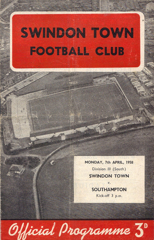 Monday, April 7, 1958 - vs. Southampton (Home)