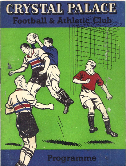 Saturday, August 26, 1961 - vs. Crystal Palace (Away)