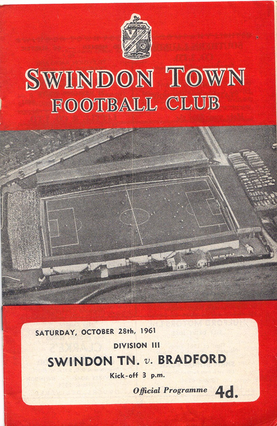 Saturday, October 28, 1961 - vs. Bradford (Home)