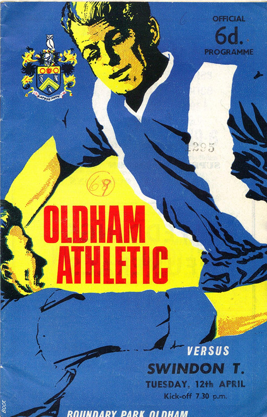 Tuesday, April 12, 1966 - vs. Oldham Athletic (Away)