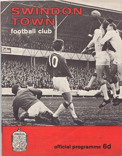 Saturday, October 22, 1966 - vs. Swansea Town (Home)