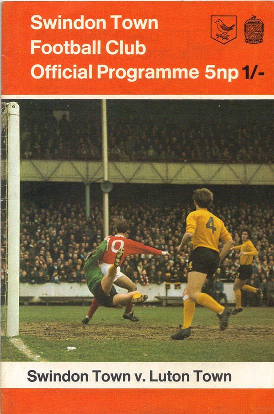 Saturday, September 26, 1970 - vs. Luton Town (Home)