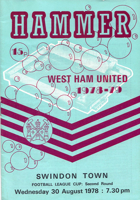 Wednesday, August 30, 1978 - vs. West Ham United (Away)