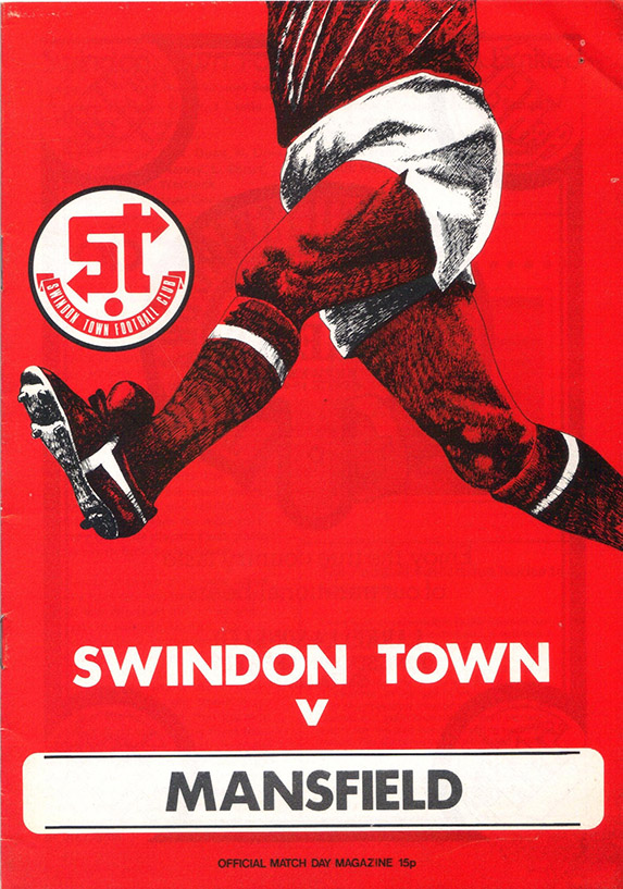 Saturday, September 2, 1978 - vs. Mansfield Town (Home)