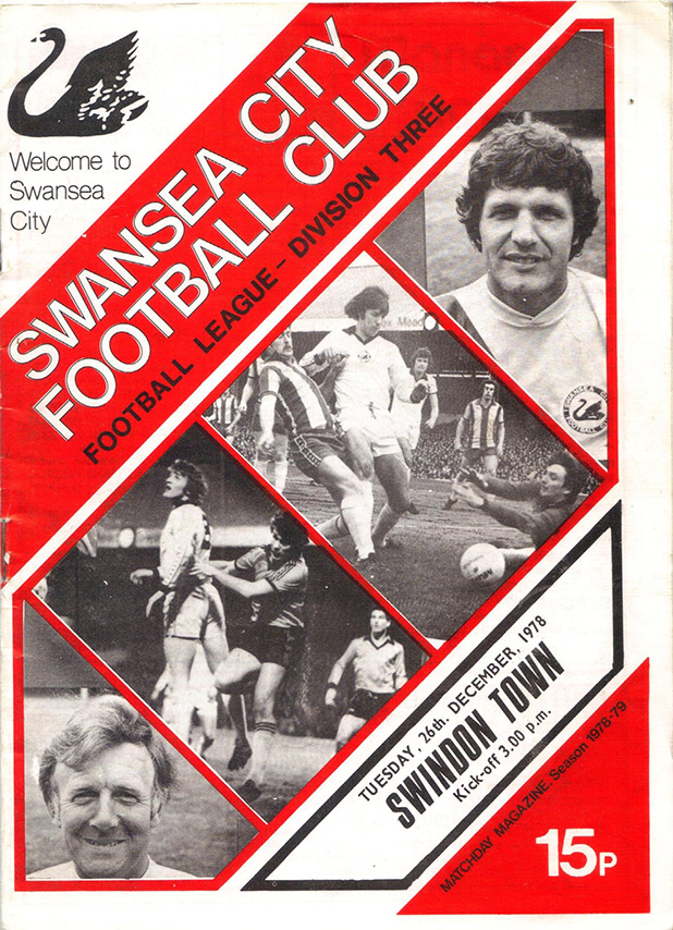 Tuesday, December 26, 1978 - vs. Swansea City (Away)