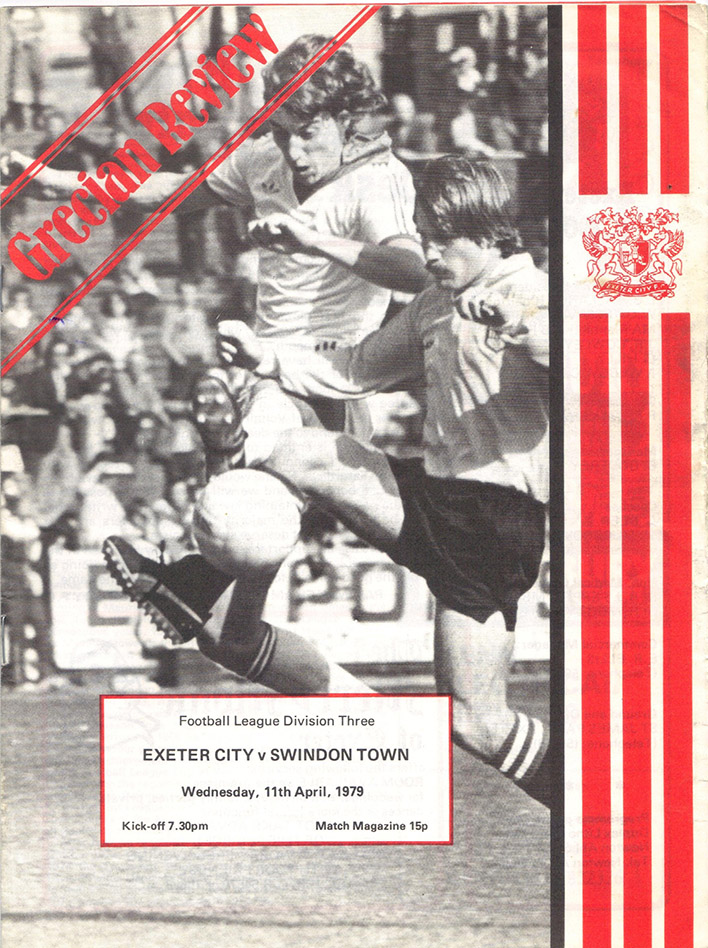 Wednesday, April 11, 1979 - vs. Exeter City (Away)