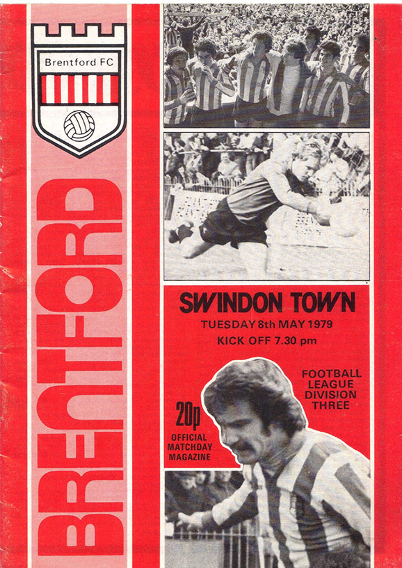Tuesday, May 8, 1979 - vs. Brentford (Away)