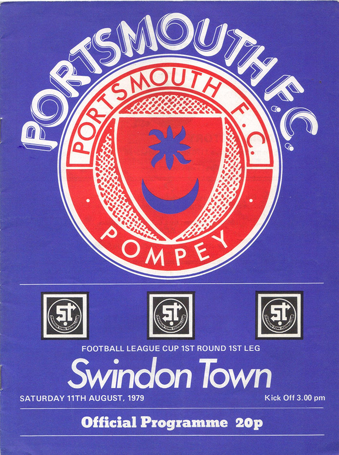 <b>Saturday, August 11, 1979</b><br />vs. Portsmouth (Away)