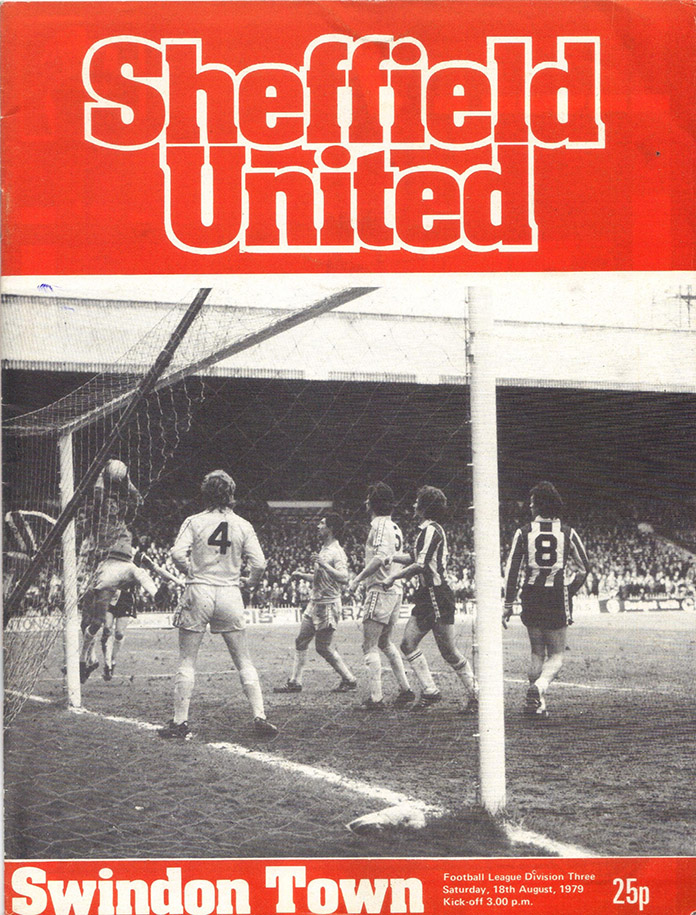 <b>Saturday, August 18, 1979</b><br />vs. Sheffield United (Away)