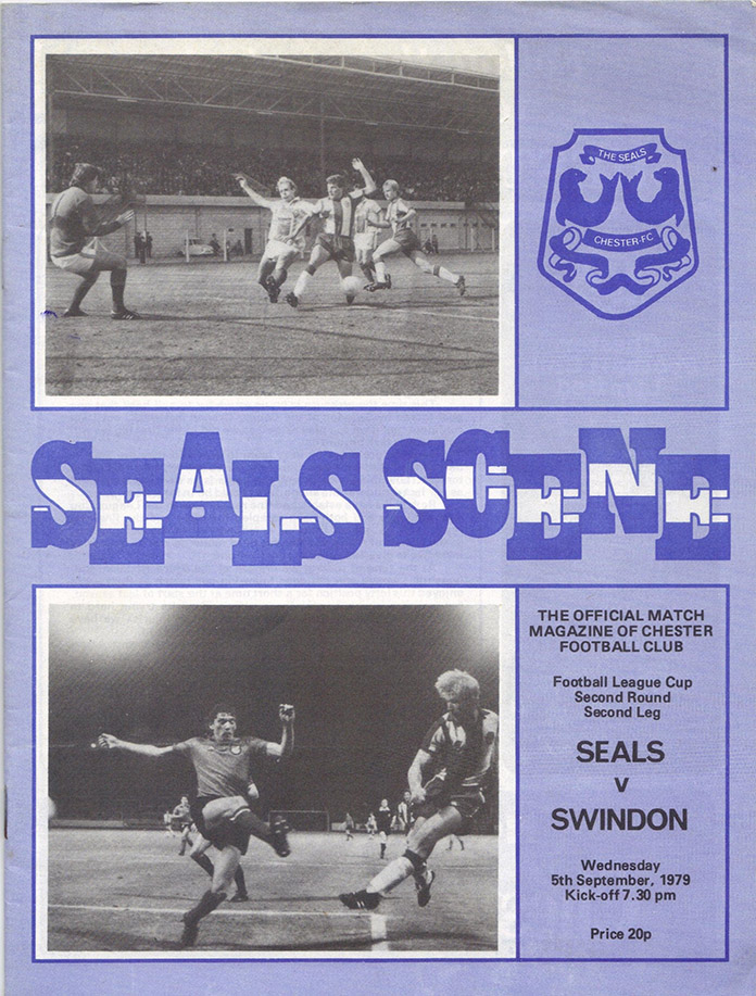<b>Wednesday, September 5, 1979</b><br />vs. Chester (Away)