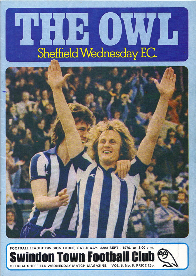 <b>Saturday, September 22, 1979</b><br />vs. Sheffield Wednesday (Away)