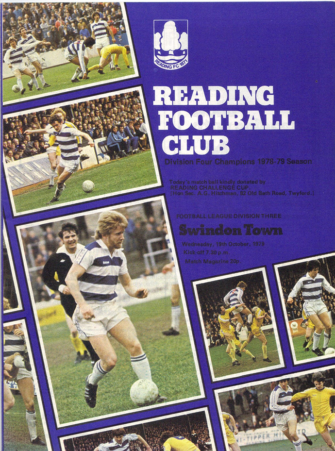 <b>Wednesday, October 10, 1979</b><br />vs. Reading (Away)