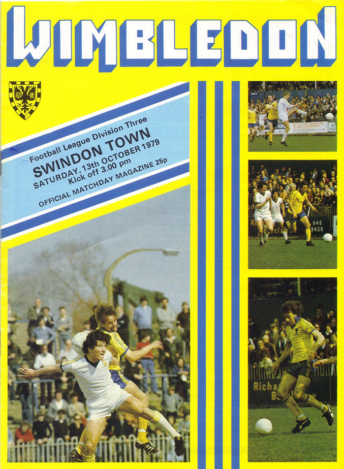 <b>Saturday, October 13, 1979</b><br />vs. Wimbledon (Away)
