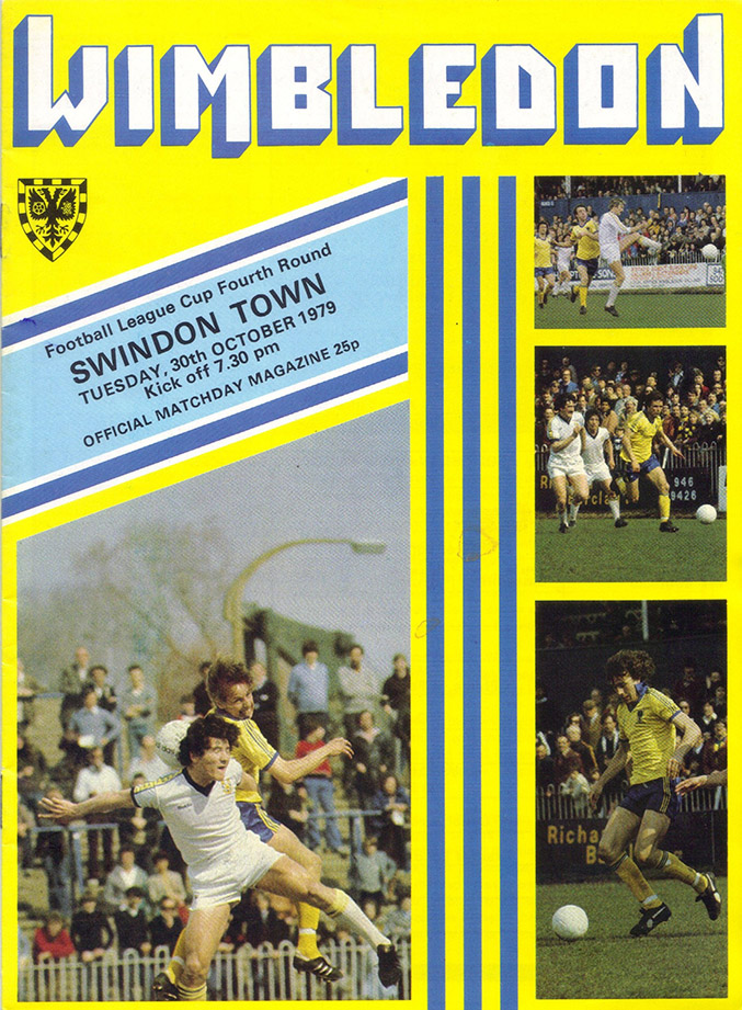 <b>Tuesday, October 30, 1979</b><br />vs. Wimbledon (Away)
