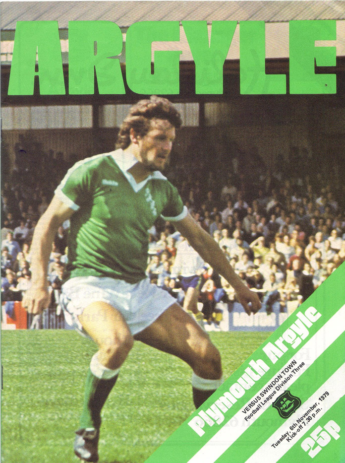 <b>Tuesday, November 6, 1979</b><br />vs. Plymouth Argyle (Away)