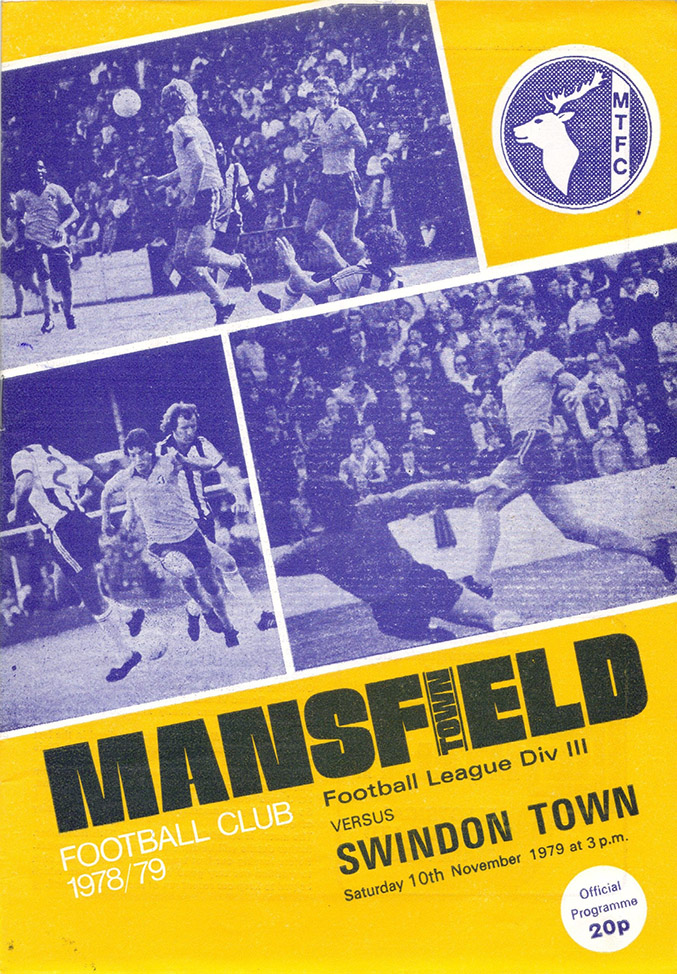 <b>Saturday, November 10, 1979</b><br />vs. Mansfield Town (Away)