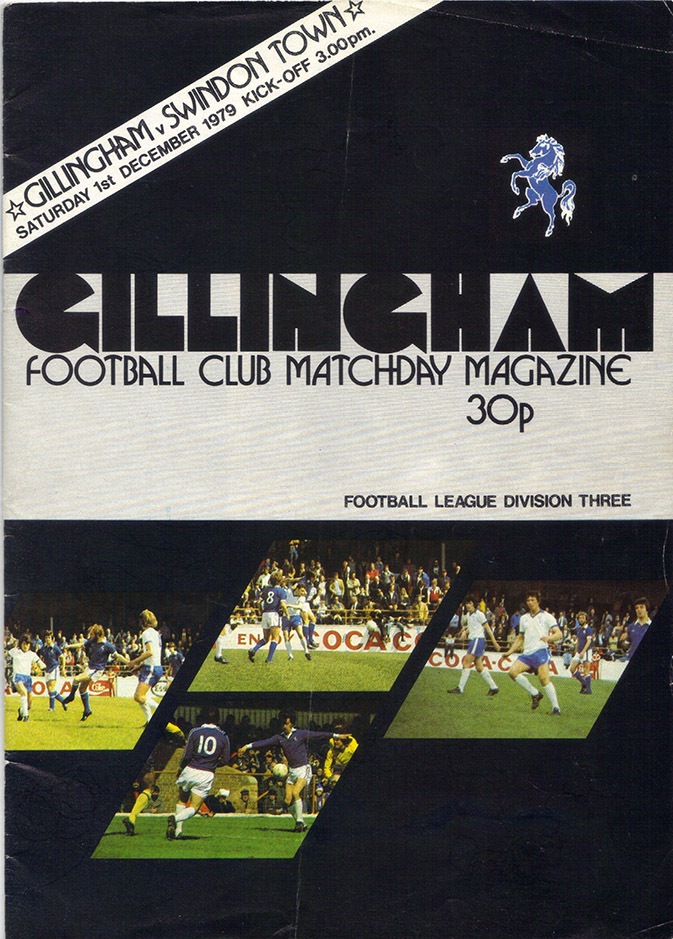 <b>Saturday, December 1, 1979</b><br />vs. Gillingham (Away)