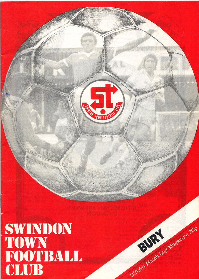 <b>Saturday, December 8, 1979</b><br />vs. Bury (Home)