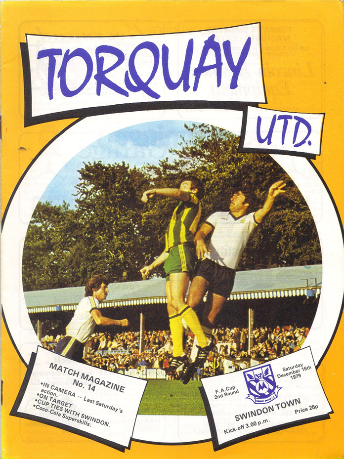 <b>Saturday, December 15, 1979</b><br />vs. Torquay United (Away)