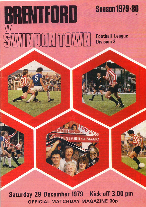 <b>Saturday, December 29, 1979</b><br />vs. Brentford (Away)