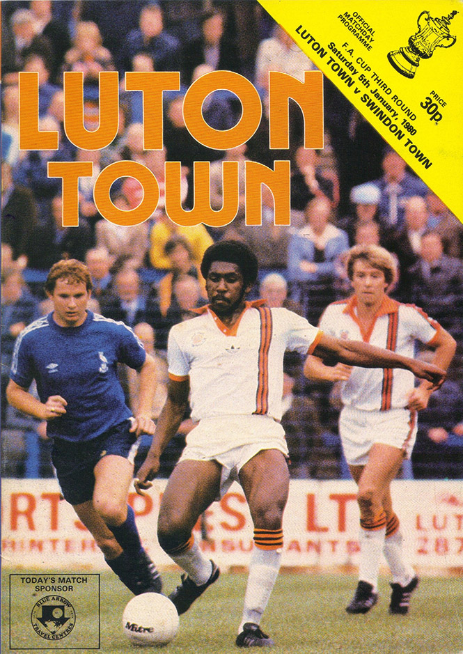 <b>Saturday, January 5, 1980</b><br />vs. Luton Town (Away)