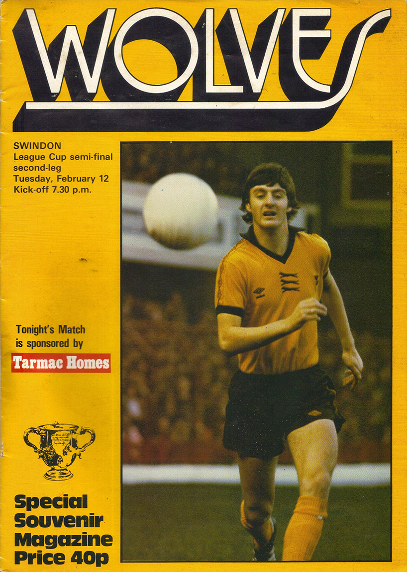 <b>Tuesday, February 12, 1980</b><br />vs. Wolverhampton Wanderers (Away)
