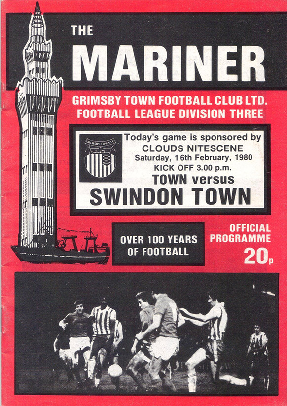<b>Saturday, February 16, 1980</b><br />vs. Grimsby Town (Away)