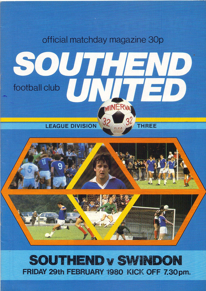 <b>Friday, February 29, 1980</b><br />vs. Southend United (Away)